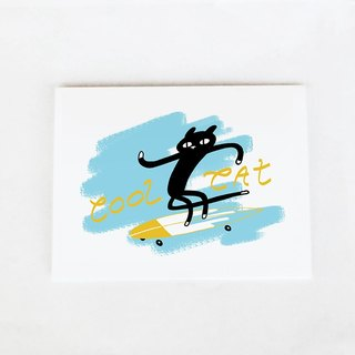Forest & Waves Universal Card / cool Oh! Kitty