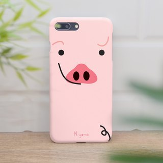 iphone case cute pastel pink pig for iphone5s,6s,6s plus, 7,7+, 8, 8+,iphone x
