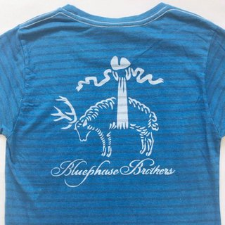 Indigo dyed 藍染 - Bluephase Brothers TEE