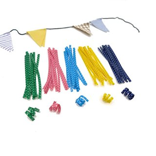 (50 pieces / one pack) Water jade point kinks. Baking packaging tie. Colored soft wire. Late color bandage