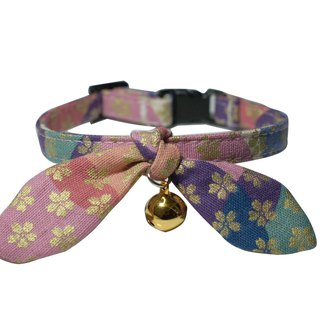 [AnnaNina] pet cat collar cherry three primary colors Kelly towel S~M
