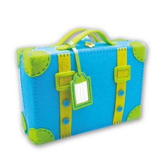 Fairy Land [material kit] go travel suitcase together - blue