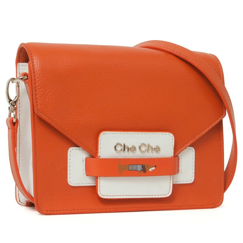Dachshund Dog Leather Cross-Shoulder Bag