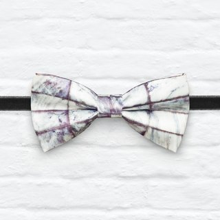 Style 0257  Marble Print Bowtie - Modern Boys Bowtie, Toddler Bowtie Toddler Bow tie, Groomsmen bow tie, Pre Tied and Adjustable Novioshk