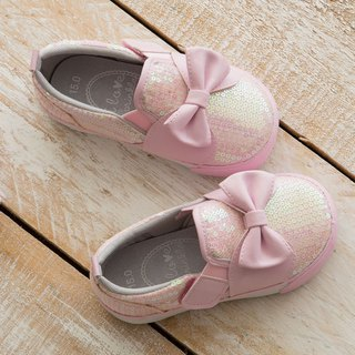 Alice Bow Sequin Slip- On Casual Shoes (Kids)
