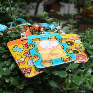 B.Duck Card Holder With Strap