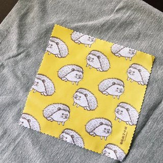 【Animal Series】#3 Busy Hedgehogs eyeglasses cleaning cloth