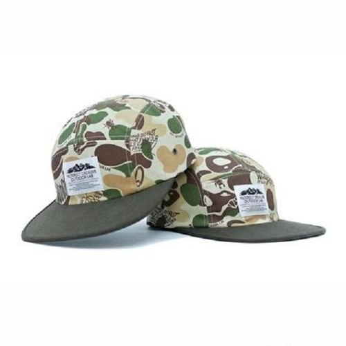 Filter017 Land Of Lost Camo 5 Panel Camp Cap / 失落之地迷彩5分割露營帽