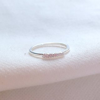 Love Anniversary S925 Sterling Silver Ring Anti-allergy