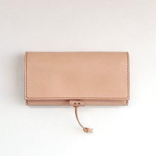 Nume leather (Produce) large-size wallet [void / ぼ い ど] # hand sewn # selectable alphabet stamp # free shipping