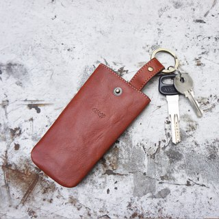 Cow leather key set