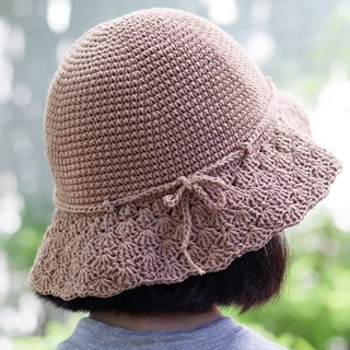 RedCheeks Summer Hat Cap - Light Brown Color