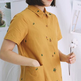 Shirt Dress (Camping) : Yellow