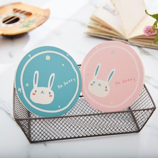 Macaron limited space ceramic absorbent coaster