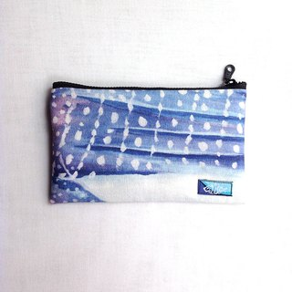 Design No.WS137 - 【Impression, Whale Shark】Watercolor Painted Pouches