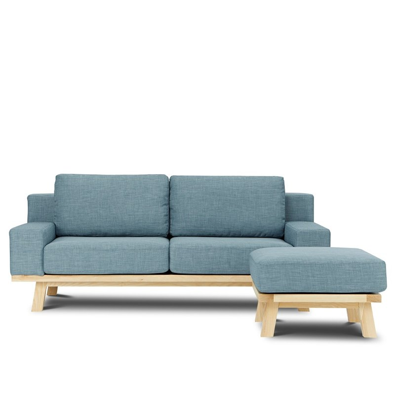 AJ2 │ Bergen │ Blue Sky │ L-shaped sofa
