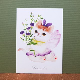Eustoma Flower Elf Postcards