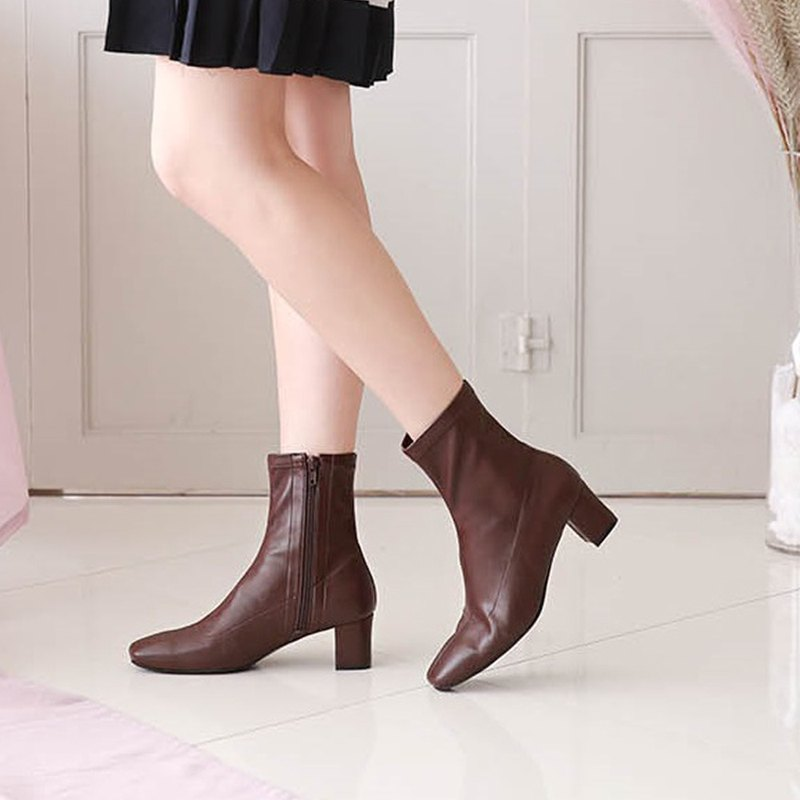 PRE-ORDER 韓國人手製 MACMOC Span (Brown) 短靴