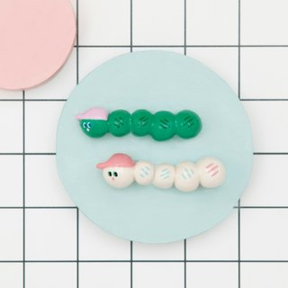 Childhoood Little Worm Brooch