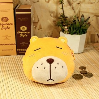 Helpless Bear fluff Coin Purse
