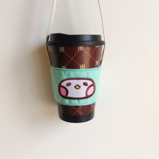 Canvas cup set drink bag
