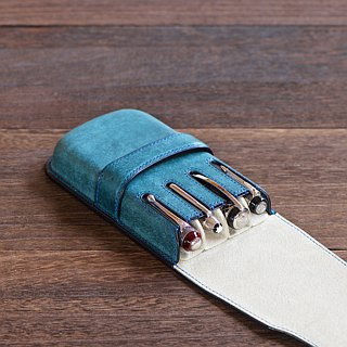4 pens inserted fountain pen case color order
