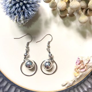 [Da Da Daily] Layer silver earrings
