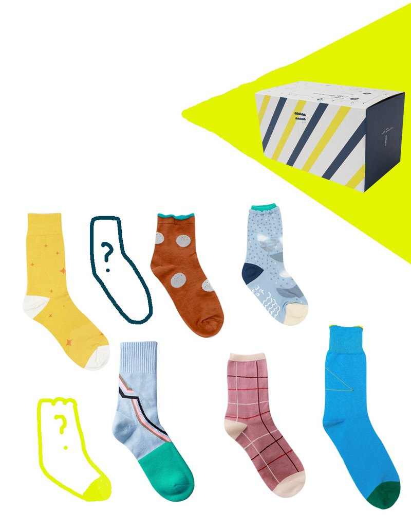 Goody bag - Socks Kingdom's Out of Print Surprise \ Pinkoi Anniversary Exclusive Limited /