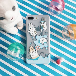 iPhone8Plus/iPhone7Plus/iPhone6Plus/Mobile Shell/Authorization/Gift/Mahjong Rabbit