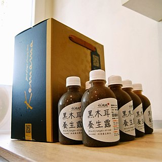 Black fungus health dew x fans bottle 14 into the gift box │ good holiday gift, good gift to send health