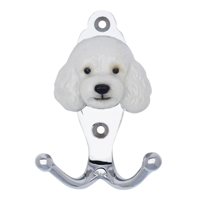 And Mary White Poodle Hook | Gift Box