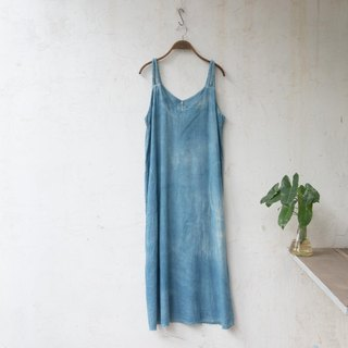 V unwind | INDIGO dyed soft linen cotton | Jibberish homemade Zero waste project