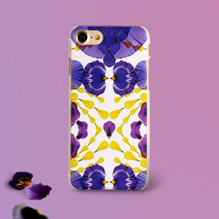 Petals Art iPhone 6/7/Plus Emboss Case (B)