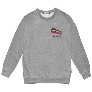 British Fashion Brand -Baker Street- Japanese Dolls  Printed Sweater