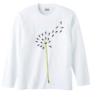 [Long sleeve T-shirt] Dancing Spring
