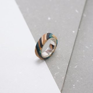 Send wood style ring R0210001