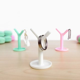 Unique mini tree jewelry fashion accessory stand, Kawaii mini tray,Home sweet home decor, 3D printed 【same color 2 pieces, 1 set】