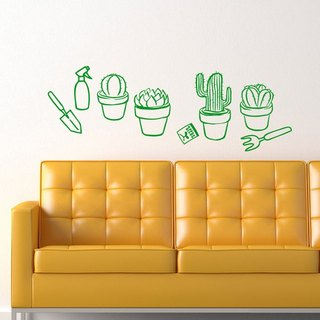 Smart Design Creative wall stickers Incognito ◆ Spa smaller pot (8 colors optional)