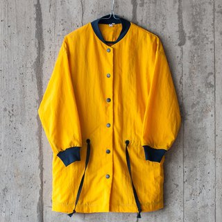 TACTEL COAT IN YELLOW