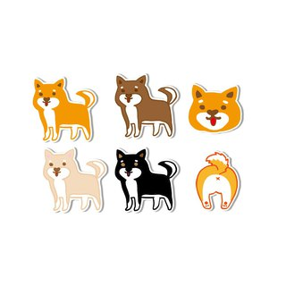 Waterproof sticker - I am Shiba Inu Control