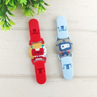 The robot base is available in 2 colors. Handkerchief clip