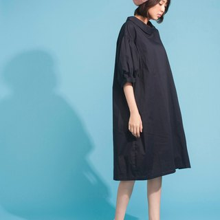 Bubble Sleeve Dress 123F616