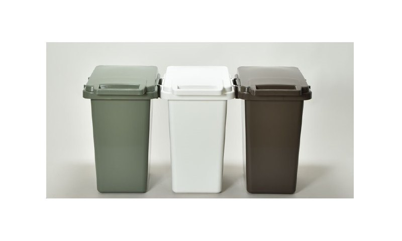 日本eco container style連結式環保垃圾桶 SABIRO系列33L 共三色