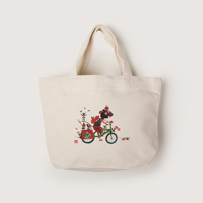Canvas tote-nothing is impossible
