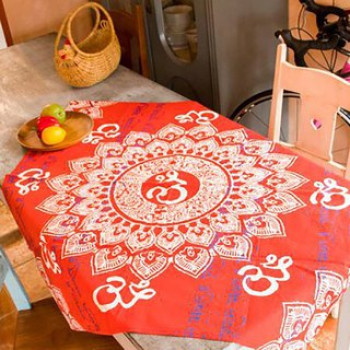 Pre-order Indian Mandala Totem Square Towel/Tablecloth (three colors) ISAP82C4