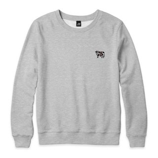 nice to MEAT you - Cattle - Deep Heather Grey - neutral version of the University of T
