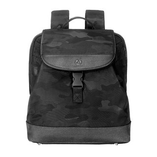 Amore City Camouflage Backpack Backpack Black