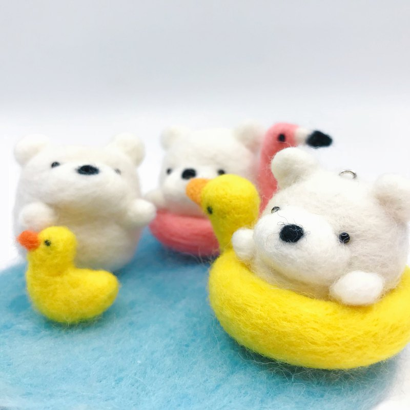 Needle Felted Lifebouy Bears