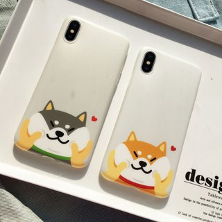 Baise-cho original Shiba Inu shiba Apple IphoneX / 6/7 / 8plus dog phone shell