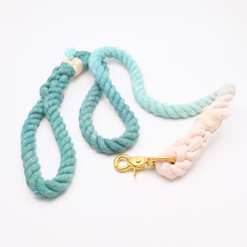 COTTON DOG LEASHES - LOTUS (110cm)